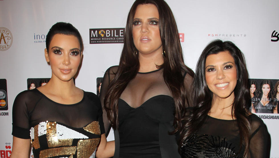 SAKS�KES: Kardashian-s�strene Kim, Khloe og Kourtney risikerer � g� p� en solid �konomisk smell dersom s�ksm�let mot dem f�rer fram. Foto: Stella Pictures