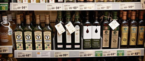 Prissjokk p� olivenolje