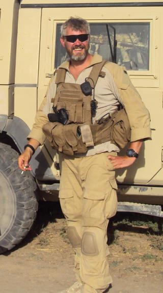 AGENT: Trond Andr� Bolle skal ha v�rt en av agentene i E 14. Bolle ble drept av en veibombe i Afghanistan i 2010. Foto: PRT Meymaneh / SCANPIX