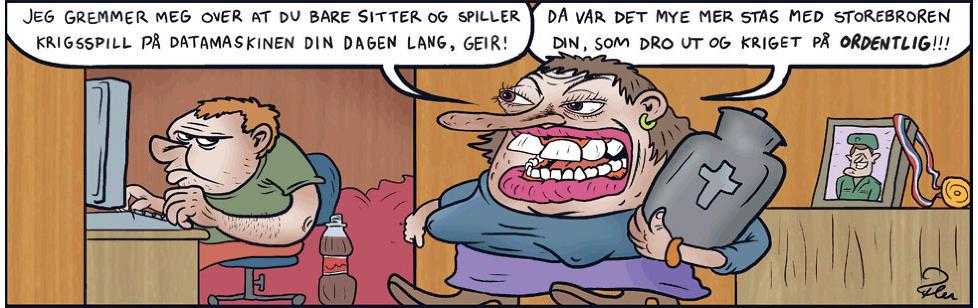 norsk tegneserie telefon sex