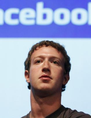 Facebook-sida til Zuckerberg hacket