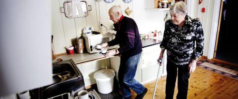 Harald (90) har pleiet kona Ruth (81) i tolv �r