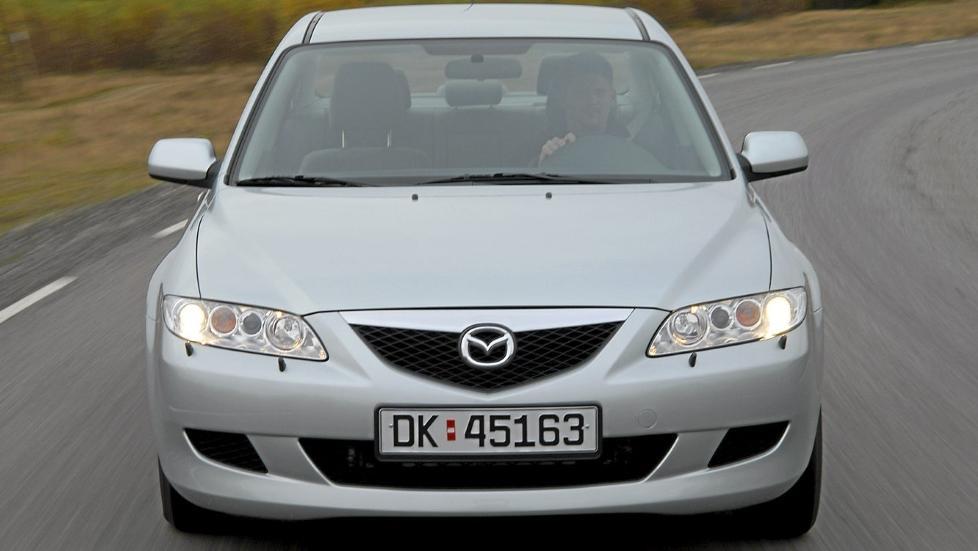 MORSOM: Mazda 6 fra 2002 til 2007 er en morsom og praktisk bruktbil. FOTO: Terje Bj�rnsen