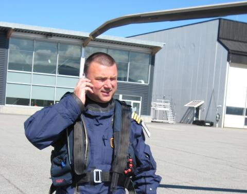 HJERTEFLIMMER: Ole Johnny Hagen er operert to ganger for hjerteflimmer etter at han begynte � fly S-92. Han lurer p� om det kan skyldes vibrasjonene i helikopteret. Foto: Privat