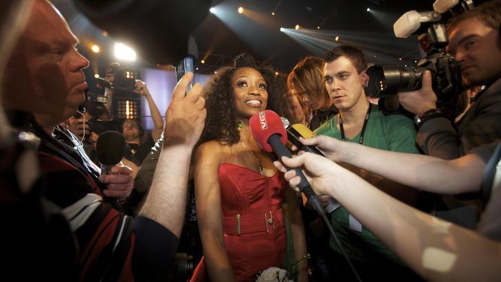 FEIRER: MGP-vinner stella Mwangi skal spille under VM-showet p� Universitetsplassen. Foto: Linn Cathrin Olsen / SCANPIX