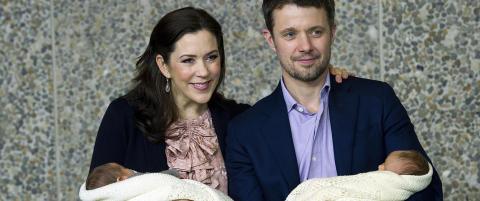 Danmarks prinsesse til sykehuset