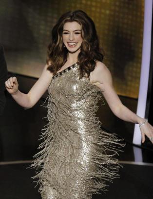 Oscar-verten Anne skiftet antrekk sju ganger