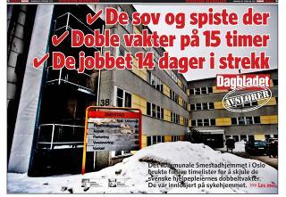 Mandagens avsl�ring i Dagbladet