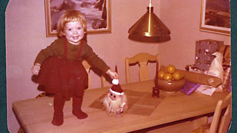 Jul p� 70-tallet: -Jeg hadde en fantastisk trygg og fin barndon, oppsummerer Ane.