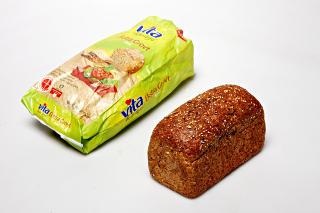 Mills/Mesterbakeren Vita Hjertego' Ekstra grovt br�d (testvinner):: En desidert vinner med en grovhetsprosent p� 100, lite salt, mye umettet fett og mest fiber av alle. Inneholder ogs� mye protein i forhold til de andre br�dene.