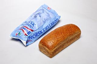 Bakers, Norsk Fjellbr�d: For lav grovhetsprosent og for lavt innhold av fiber.