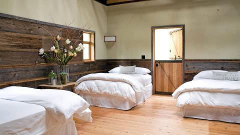 SOVESAL: En sovesal var et av kravene til kunden FOTO: Jenny Elia Pfeiffer