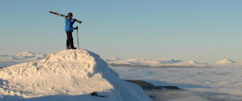 Til topps i Kvitfjell