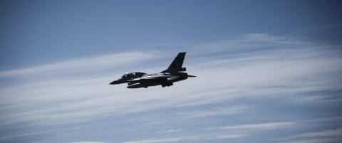 Norske F-16-fly hjemme p� grunn av russerne