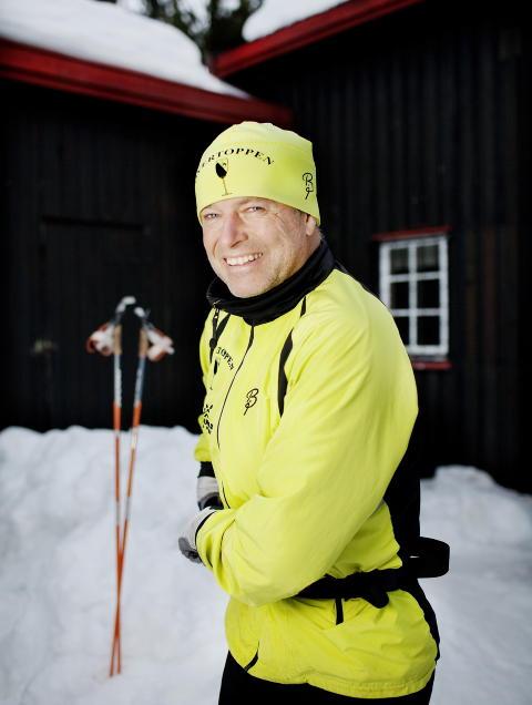 SUKSESSHISTORIE: Bernt Lund har v�rt heldig med sine investeringer. I helga gikk han Birkebeinerrennet. Han er medlem av en privat skiklubb, Overtoppen, der du m� bli anbefalt for � v�re med.  Foto: Agnete Brun / Dagbladet