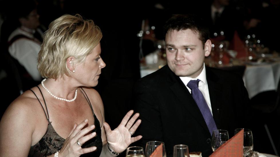 STJERNE: Trond Birkedal var k�ret til en av landets mest lovende unge politikere, han var som 31-�ring allerede ordf�rerkandidat for andre gang. Her fra Frps landsm�te i 2006. FOTO: SVEINUNG UDDU YSTAD