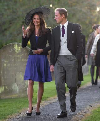 GIFTER SEG: Prins William og Kate Middleton gifter seg 29. april .Foto: STR/EPA/Scanpix