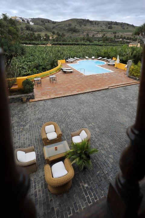 UTYPISK CHARTERHOTELL: Landhotellet La Hacienda del Buen Suceso p� Gran Canaria. Foto: JOHN T. PEDERSEN