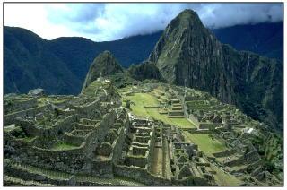 3. PLASS: Machu Picchu i Peru kapret tredjeplassen i k�ringen. Ruinene st�r b�de p� UNESCOs liste over verdensarven, og er ogs� valgt som ett av verdens sju moderne underverk. Foto: ESPEN R�ST