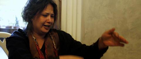 Eman al-Obeidi har flyktet fra Libya