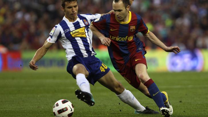 barcelona ett poeng fra seriegull sport