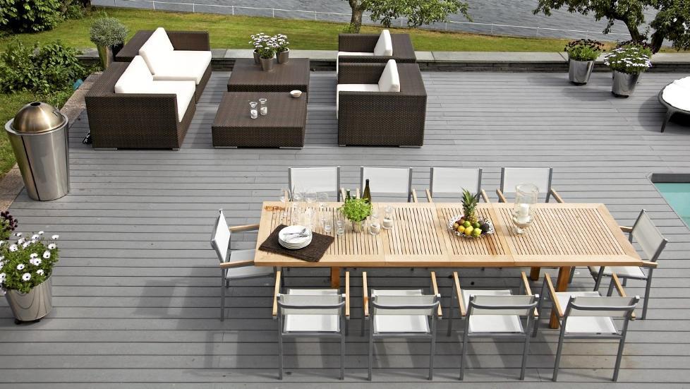 Komposittmateriale terrasse
