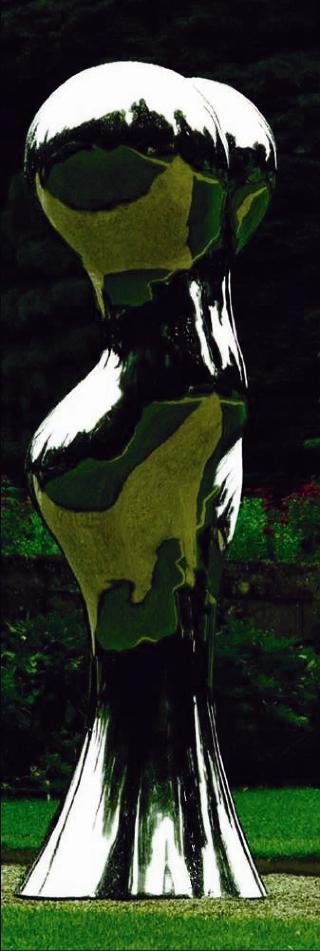 MARILYN: Her er en av skulpturene som Christian Ringnes vil sette opp i Ekebergskogen. Foto: Utlånt av Chr. Ringnes