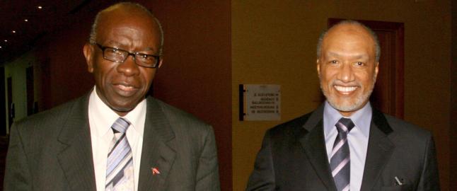 FIFA suspenderer Bin Hammam og Jack Warner