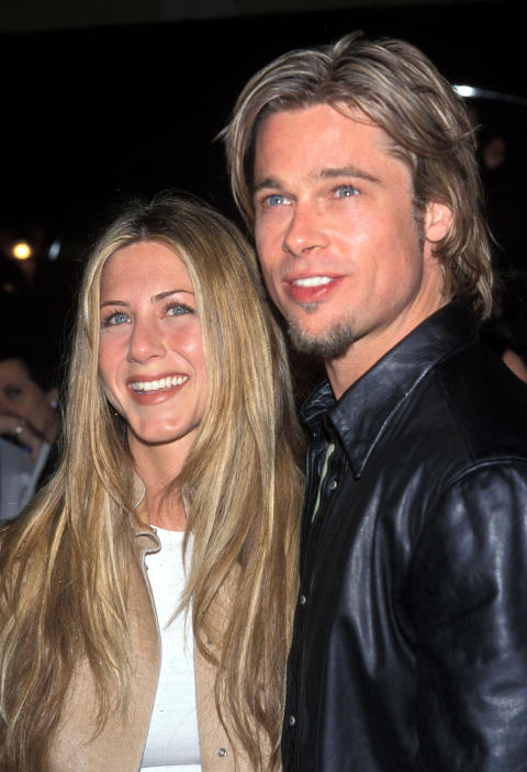 VAR GIFT: Brad Pitt og skuespillerkollega Jennifer Aniston var gift i fem �r, fra 2000 til 2005. Foto: Stella Pictures