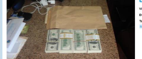 Her er de 40 000 dollar i cash som utl�ste korrupsjonskaoset i FIFA