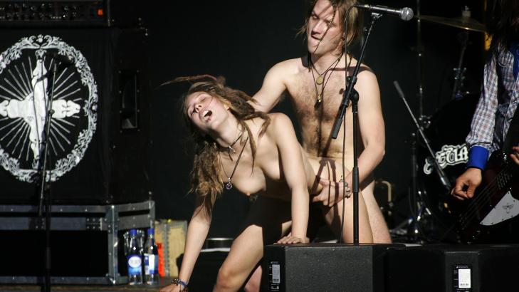 women in bathroom naked