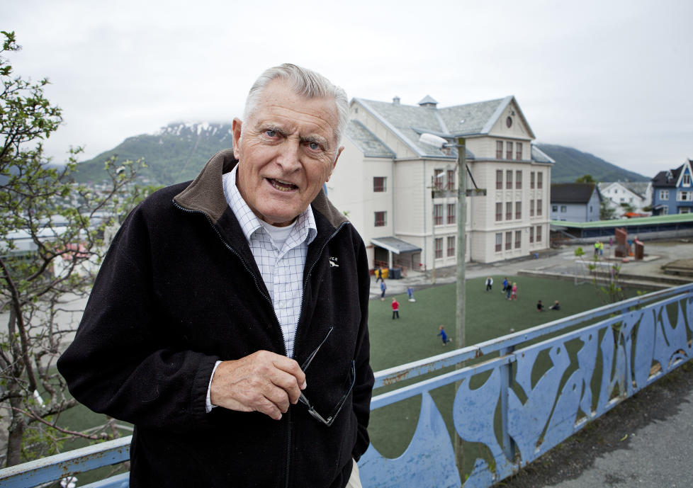 FORSVARER VOLD MOT BARN: Einar Eng�y sier at makthaverne i dag ikke har noe begrep om guddommelig rett. Han forsvarer at barn kan bli fysisk straffet av sine foreldre. Foto:  Vidar Dons Lindrupsen