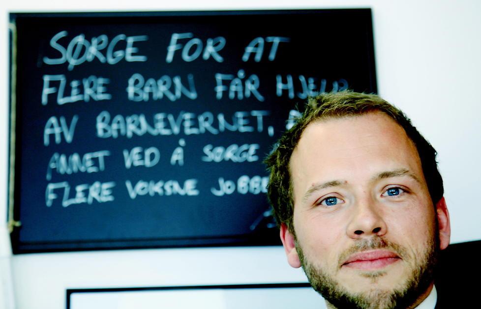 KARTLEGGER BARN I LUKKEDE MILJ�ER: Statsr�d Audun Lysbakken (SV) kommer snart med en rapport om barn i lukkede milj�er og hvordan de kan hjelpes ut. Foto: Jacques Hvistendahl