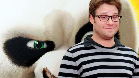 KJENT STEMME: Skuespiller Seth Rogen, kjent fra suksessfilmene �Knocked Up� og �Superbad�, har stemmen som Mantis i den amerikanske versjonen av �Kung Fu Panda 2�. Foto: Mark Ralston/AFP/Scanpix