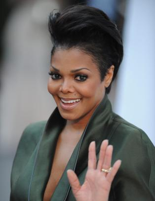 Janet Jackson har landet i Norge