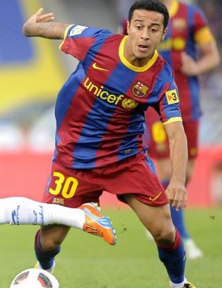 - United byr 130 millioner for Barcelonas Thiago