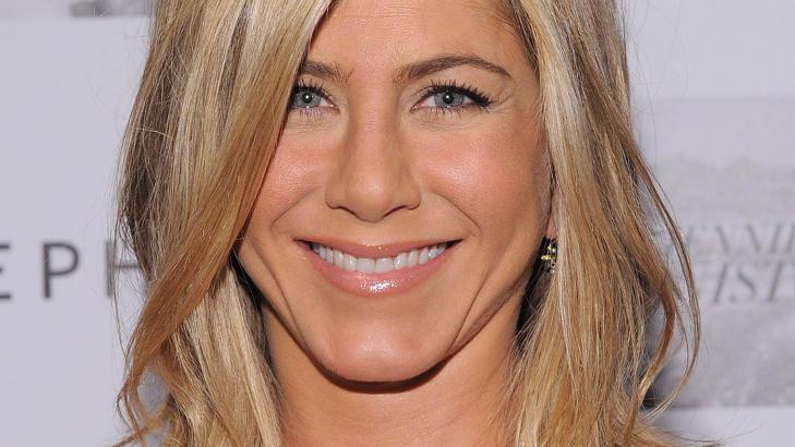LYKKELIG: Jennifer Aniston sier hun er �ekstremt lykkelig�, men r�per ellers sv�rt lite om privatlivet. Foto: Mike Coppola/Getty Images/AFP/Stella Pictures