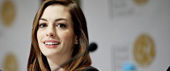 - Anne Hathaway håndhilste ikke på meg fordi hun var redd for å bli smittet av ebola