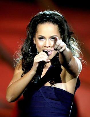 Alicia Keys til �Skavlan�