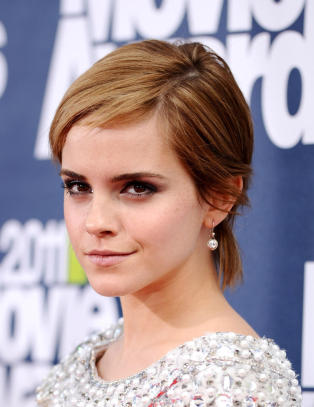 Emma Watson var betatt av Malfoy
