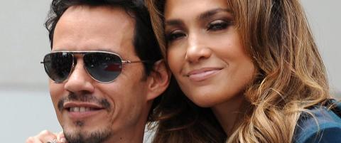 Jennifer Lopez og Marc Anthony skiller seg