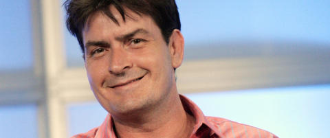 Charlie Sheen gjr comeback p tv-skjermen