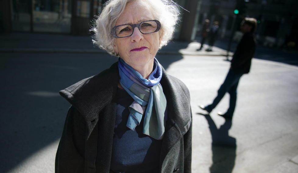 INGEN HJELP FOR KVINNENE:  Seniorr�dgiver Liv Jessen i Prosenteret sier sexkj�ploven ikke har redusert prostitusjonen vesentlig i Norge, og at den ikke har v�rt til hjelp for dem som er utsatt. Foto: Therese Alice Sanne