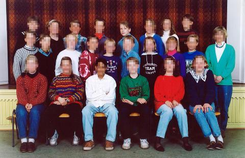 SA HAN TRENTE HVER MORGEN KLOKKA SEKS: Behring Breivik skal if�lge ham selv g�tt � trening f�r skoledagen startet. Bildet er fra barneskolen.