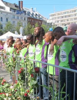 Da Kliptown og Mandelas barn ba en b�nn for Norge
