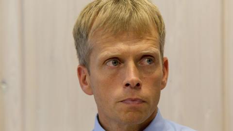 BEKREFTER: Politistasjonssjef Kjell Magne Tvenge sier 17-�ringen ble avh�rt uten advokat. Foto: Terje Bendiksby / Scanpix .