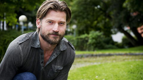 P NORSKE LERRET: Danske Nikolaj Coster-Waldau spilte i Hodejegerne  i fjor, mot Aksel Hennie og Synnve Macody Lund, regissert av Morten Tyldum. Foto: istein Norum Monsen / Dagbladet