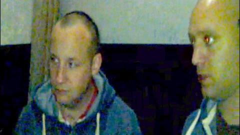FACEBOOK-KONTAKT: Paul Ray (t.v.) og Nick Greger var begge venner med NDL-leder Lena Andreassen på Facebook. Hun kastet Anders Behring Breivik ut av bevegelsen. Foto: Privat