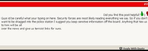 VÆR FORSIKTIGE: Beskjed til medlemmene til English Defence League etter terrorangrepene i Norge.