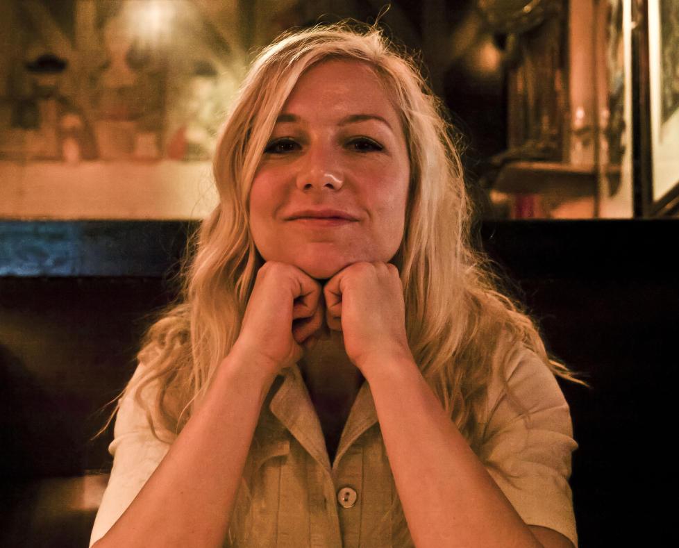 ROCKA:  Gitarist Hedvig Mollestad Thomassen leder sin egen trio p� et debutalbum med musikk som minner lite om den hun spiller med Jon Eberson Group og bandene til Hilde Marie Kjersem og Jarle Bernhoft. FOTO: TERJE MOSNES